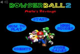 Graj w Bowser Ball 2: Mario's Revenge