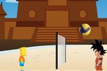 Bart Simpson vs Dragon Ball