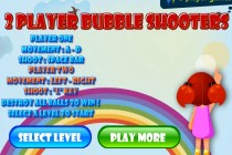 2 Player Bubble Shooters - Zrzut ekranu