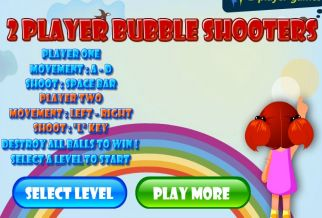 Graj w 2 Player Bubble Shooters