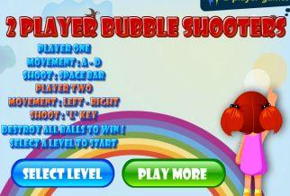 Graj w 2 Player Bubble Shooters