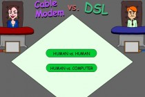 Cable Modem vs. DSL - Zrzut ekranu
