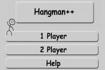 Hangman - Zrzut ekranu