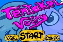 Tentakel Volley - Zrzut ekranu