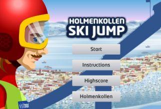 Graj w Holmenkollen Ski Jump