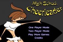 High School Cheerleader - Zrzut ekranu