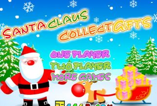 Graj w Santa Claus Collect Gifts