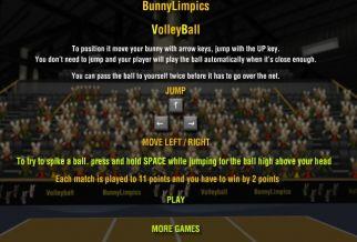 Graj w BunnyLimpics VolleyBall
