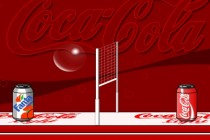 Coca-Cola Volleyball - Zrzut ekranu