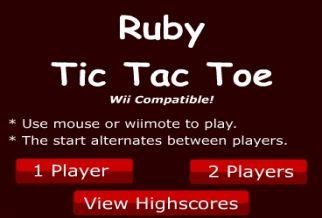 Graj w Ruby Tic Tac Toe