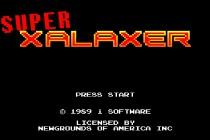 Super Xalaxer - Zrzut ekranu