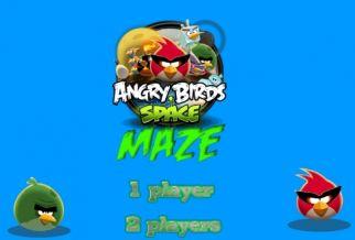 Graj w Angry Birds Space Maze