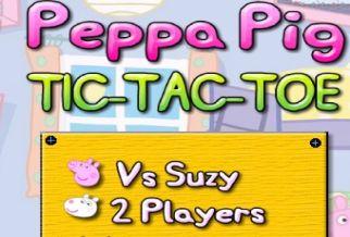Graj w Peppa Pig Tic-Tac-Toe
