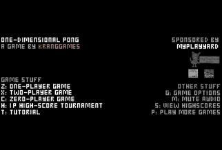 Graj w One-Dimensional Pong