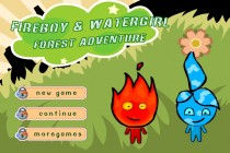 FireBoy & WaterGirl: Forest Adventure - Zrzut ekranu