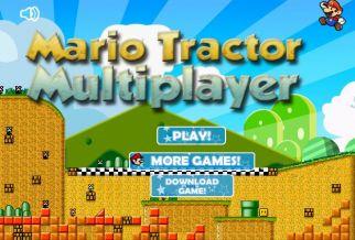 Graj w Mario Tractor Multiplayer
