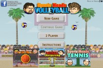 Sports Heads: Volleyball - Zrzut ekranu