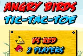 Graj w Tic-Tac-Toe: Angry Birds
