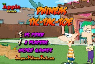 Graj w Phineas Tic-Tac-Toe