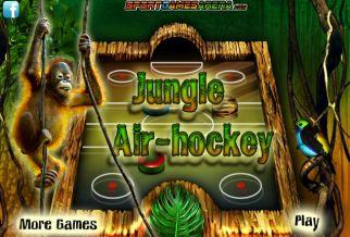 Graj w Jungle Air-Hockey