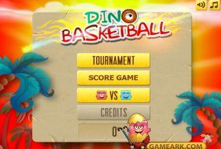 Graj w Dino Basketball