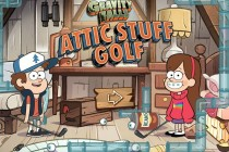Gravity Falls: Attic Stuff Golf - Zrzut ekranu