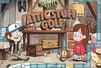 Graj w Gravity Falls: Attic Stuff Golf