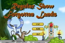 Regular Show Forgotten Lands - Zrzut ekranu