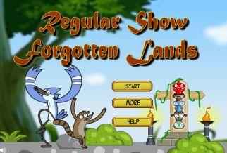 Graj w Regular Show Forgotten Lands