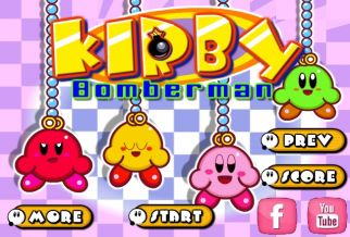 Graj w Kirby Bomberman