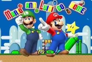 Graj w Mario And Luigi Go Home