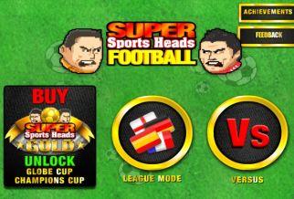 Graj w Super Sports Heads: Football Beta