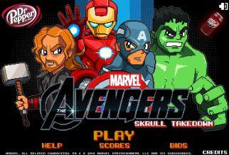 Graj w Avengers: Skrull Takedown