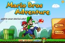 Przygoda Braci Mario - Zrzut ekranu