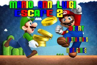 Graj w Mario And Luigi Escape 2