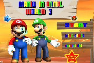 Graj w Mario i Zwierzaki 3