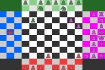 Szachy na 4 graczy - Zrzut ekranu