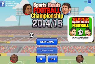 Graj w Sports Heads: Football Championship 2014/15