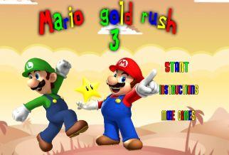 Graj w Mario Gold Rush 3
