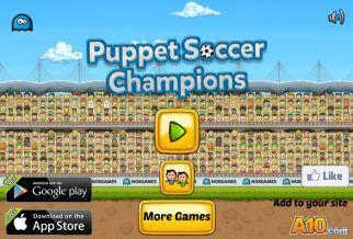 Graj w Puppet Soccer Champions