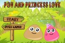 Pou And Princess Love - Zrzut ekranu