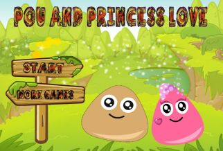 Graj w Pou And Princess Love