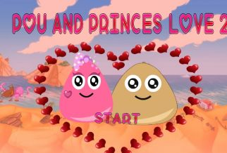 Graj w Pou And Princess Love 2