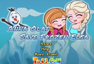 Graj w Anna i Olaf ratują Elsę