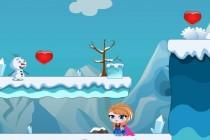 Anna i Olaf ratują Elsę - Zrzut ekranu