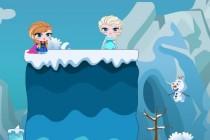 Anna i Olaf ratują Elsę