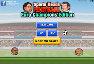 Graj w Sports Heads: Football Euro Champions Edition