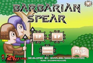 Graj w Barbarian Spear