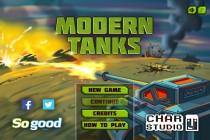 Modern Tanks - Zrzut ekranu