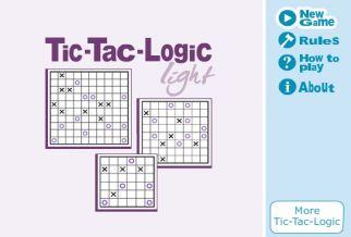 Graj w Tic-Tac-Logic: Light Vol. 1